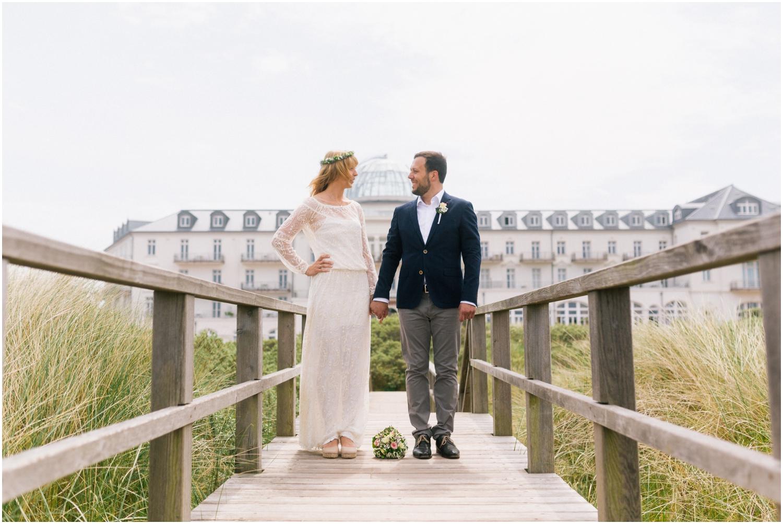 Hochzeit am Strand von Juist