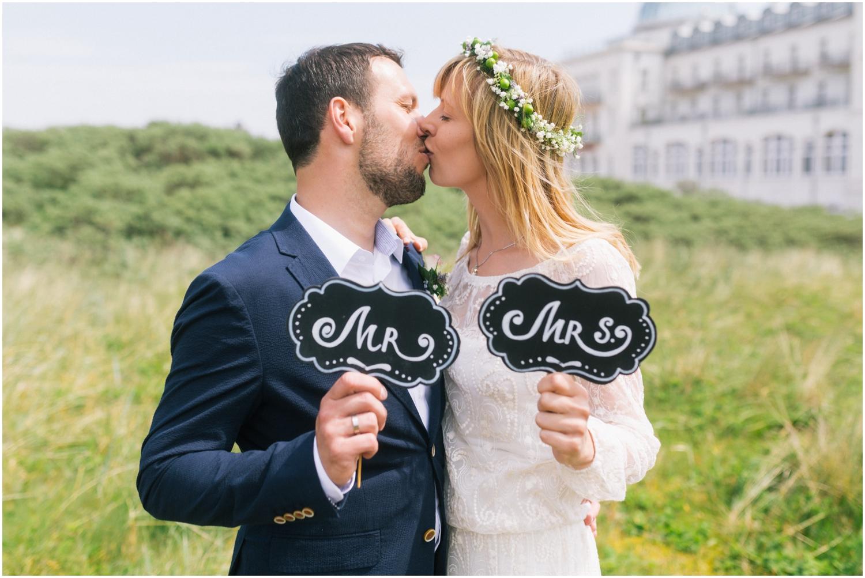 Hochzeitsfotos auf Juist