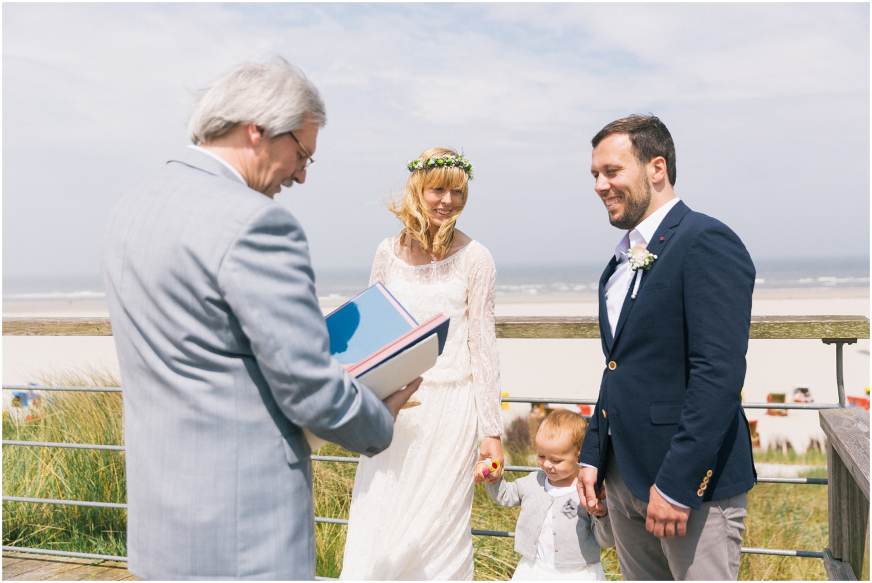 Hochzeit an der Nordsee