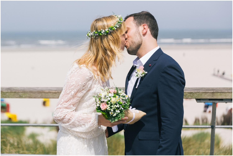 Fotograf bei einer Hochzeit auf Juist