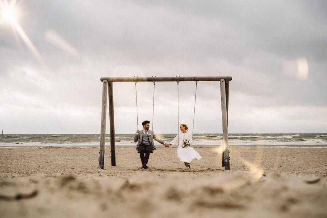 Hochzeit am Strand von Norderney