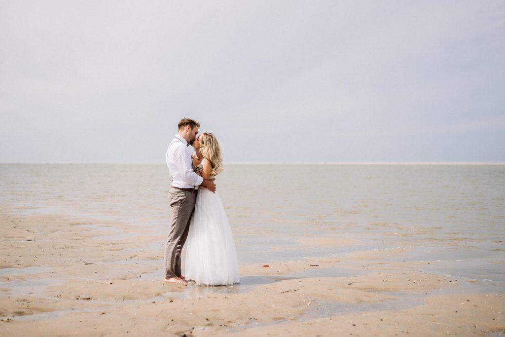 Hochzeitsfoto von Baltrum