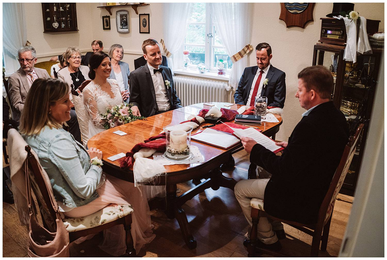 Hochzeit im Standesamt Hochtiedsstuv Norderney