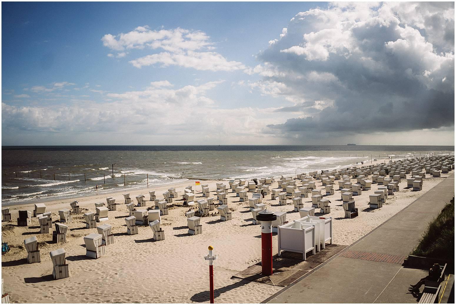 Strandpromenade auf Wangerooge