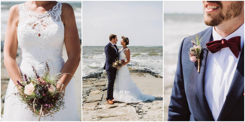 Brautpaar am Strand Norderney