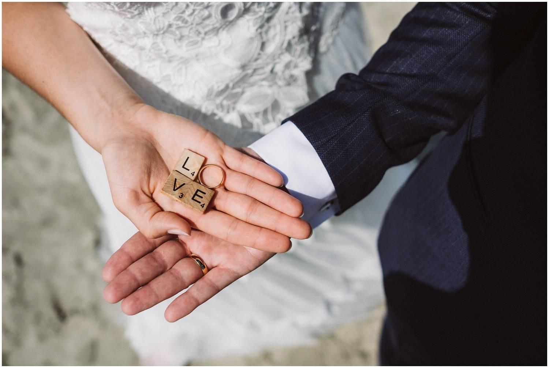 Hochzeitsringe auf Norderney
