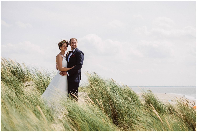 Hochzeit an der weissen Düne Norderney