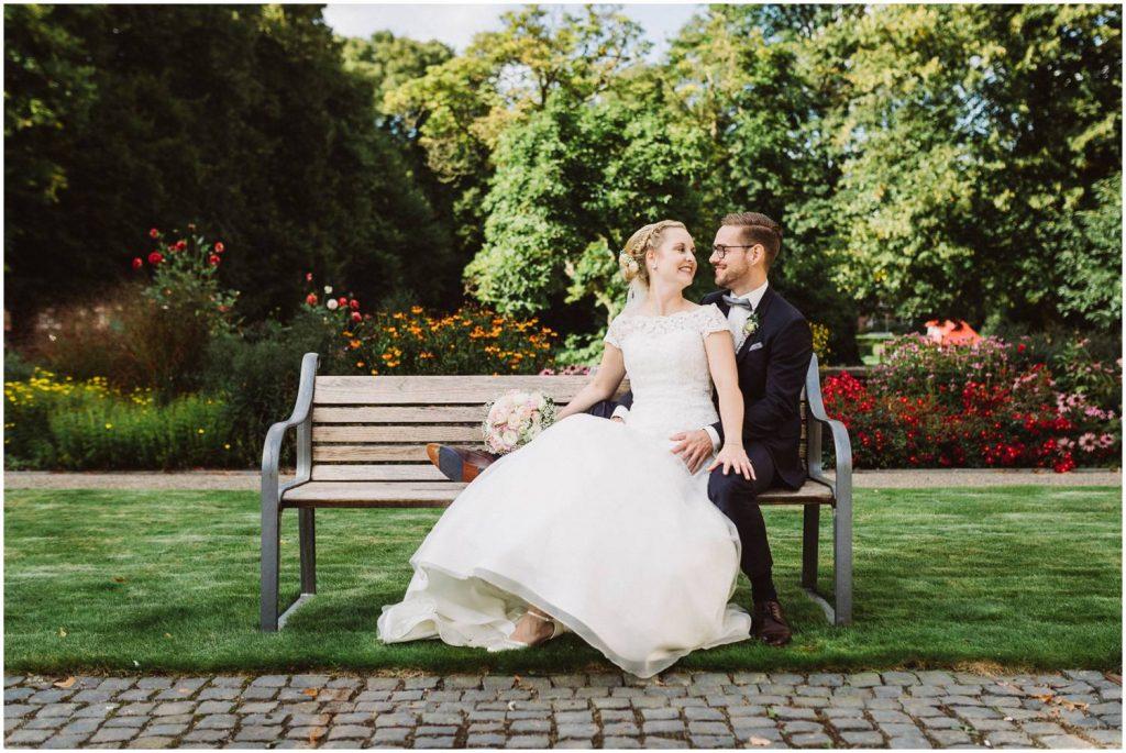 Hochzeitsfoto im Schloß Evenburg in Leer