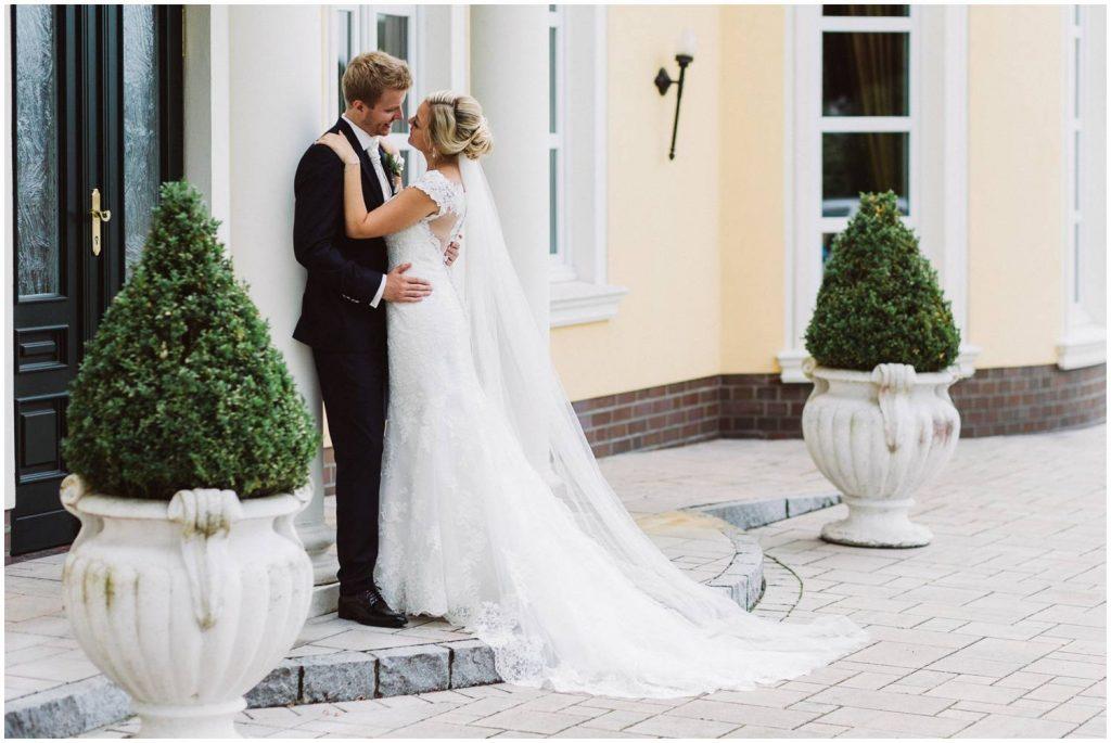 Hochzeitsfoto am Schloss Köhlmoor Westerstede
