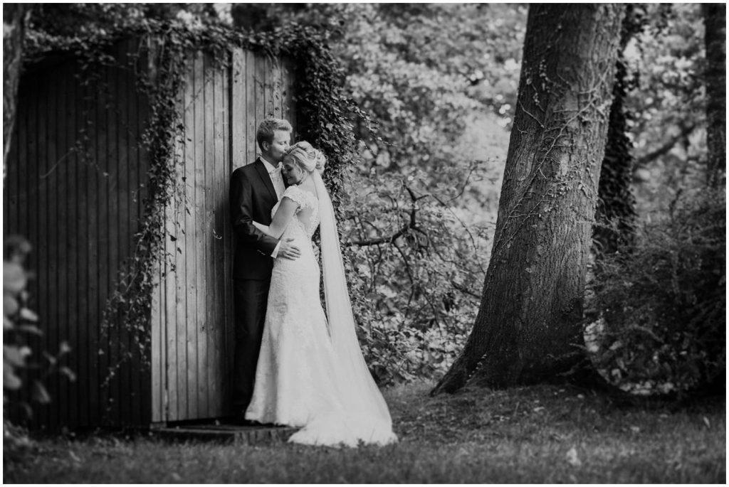 Hochzeitsfoto im Stadtpark Cloppenburg