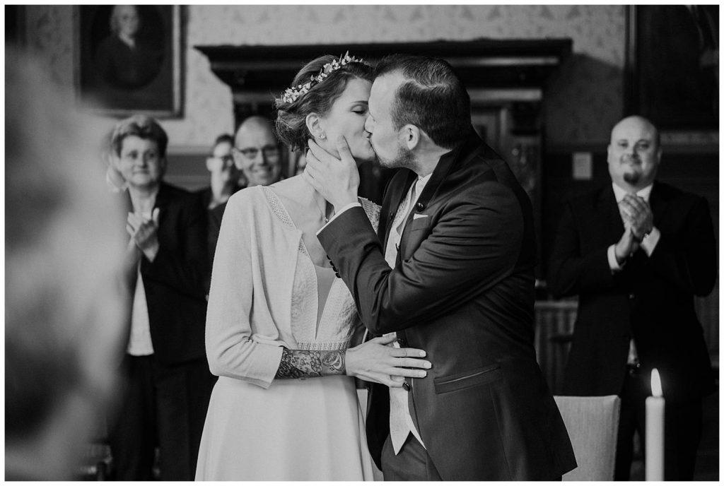 Brautpaar im Standesamt Aurich - Ständesaal der Ostfriesischen Landschaft