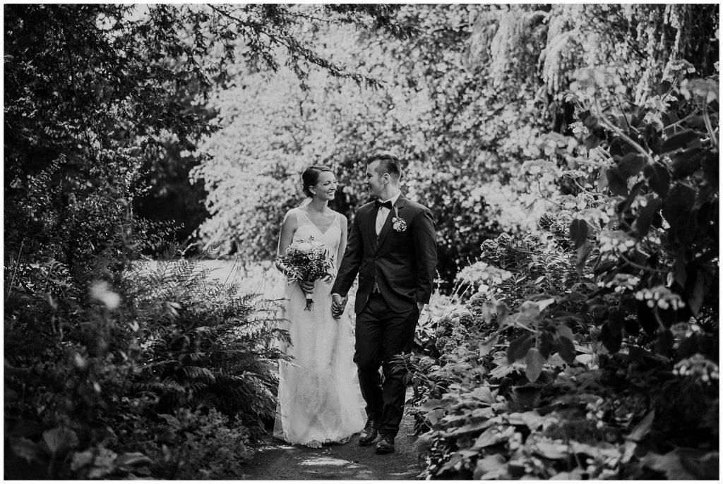 Brautpaarshooting bei einer Hochzeit in Bad Zwischenahn