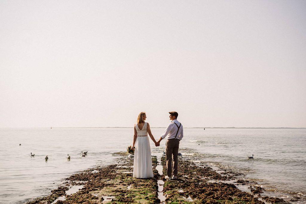 Hochzeit am Badekarren Norderney