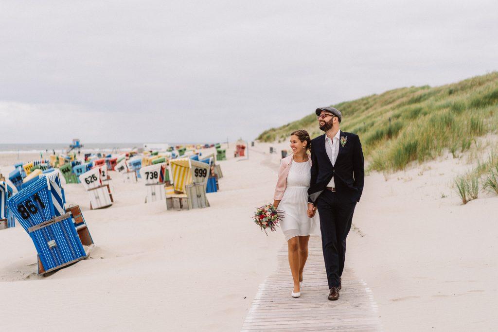 Hochzeit am Strand Langeoog von Hochzeitsfotograf Elmar Tapper