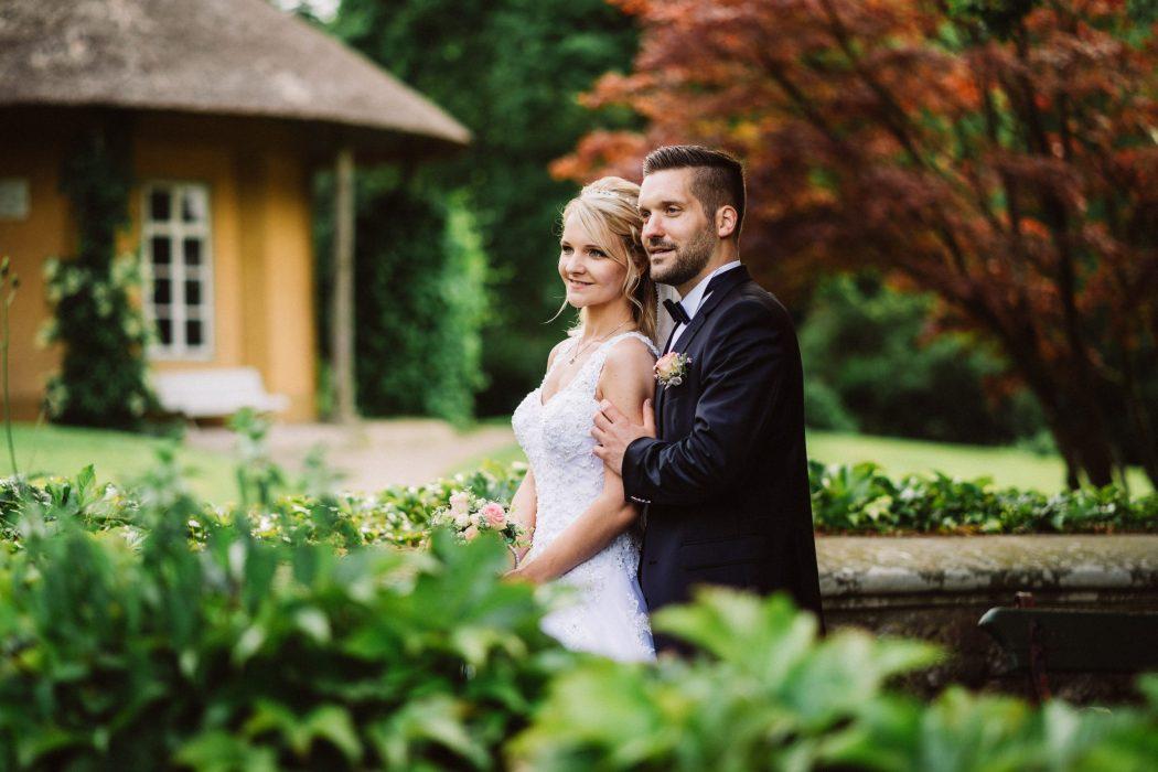 Hochzeit im Tempel der Freundschaft im Lütetsburger Park